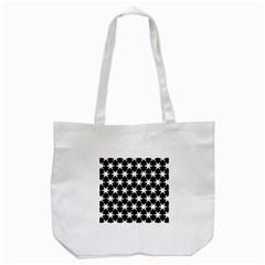 Star Egypt Pattern Tote Bag (white)