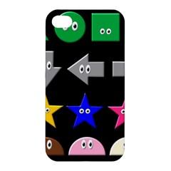 Cute Symbol Apple Iphone 4/4s Hardshell Case by Nexatart
