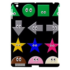 Cute Symbol Apple Ipad 3/4 Hardshell Case (compatible With Smart Cover) by Nexatart