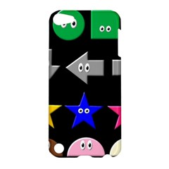 Cute Symbol Apple Ipod Touch 5 Hardshell Case by Nexatart
