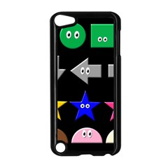 Cute Symbol Apple Ipod Touch 5 Case (black)