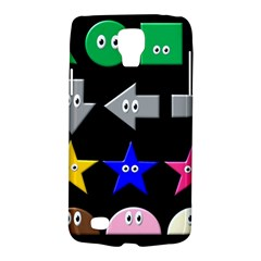 Cute Symbol Galaxy S4 Active by Nexatart