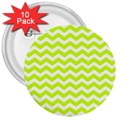 Chevron Background Patterns 3  Buttons (10 Pack)
