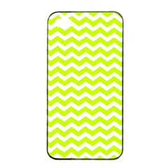 Chevron Background Patterns Apple Iphone 4/4s Seamless Case (black) by Nexatart