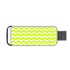 Chevron Background Patterns Portable Usb Flash (one Side)