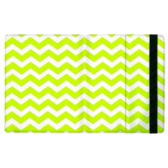 Chevron Background Patterns Apple Ipad 2 Flip Case by Nexatart