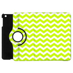 Chevron Background Patterns Apple Ipad Mini Flip 360 Case by Nexatart