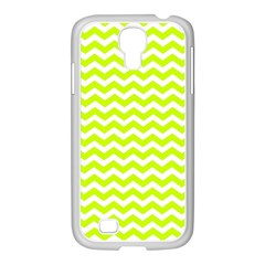 Chevron Background Patterns Samsung Galaxy S4 I9500/ I9505 Case (white) by Nexatart