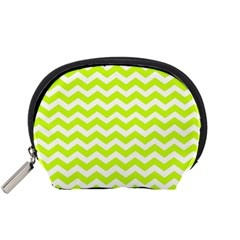 Chevron Background Patterns Accessory Pouches (small)