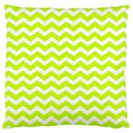 Chevron Background Patterns Large Flano Cushion Case (Two Sides) Back