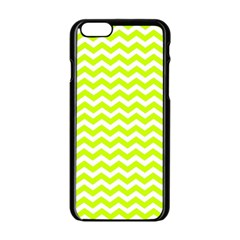 Chevron Background Patterns Apple Iphone 6/6s Black Enamel Case by Nexatart