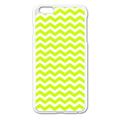 Chevron Background Patterns Apple Iphone 6 Plus/6s Plus Enamel White Case