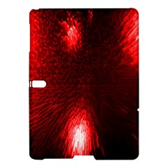 Box Lights Red Plaid Samsung Galaxy Tab S (10 5 ) Hardshell Case  by Mariart