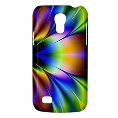 Bright Flower Fractal Star Floral Rainbow Galaxy S4 Mini by Mariart