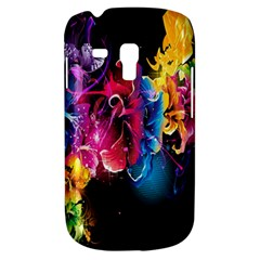 Abstract Patterns Lines Colors Flowers Floral Butterfly Galaxy S3 Mini by Mariart
