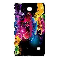 Abstract Patterns Lines Colors Flowers Floral Butterfly Samsung Galaxy Tab 4 (8 ) Hardshell Case  by Mariart