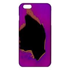 Buffalo Fractal Black Purple Space Iphone 6 Plus/6s Plus Tpu Case by Mariart