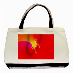 Complex Orange Red Pink Hole Yellow Basic Tote Bag by Mariart