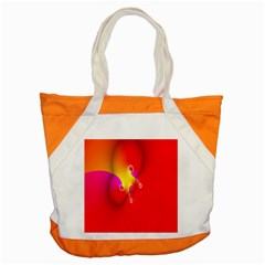Complex Orange Red Pink Hole Yellow Accent Tote Bag by Mariart