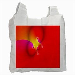 Complex Orange Red Pink Hole Yellow Recycle Bag (one Side) by Mariart