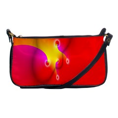 Complex Orange Red Pink Hole Yellow Shoulder Clutch Bags by Mariart