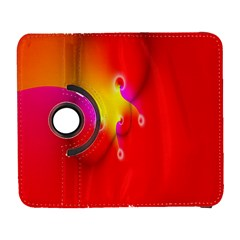 Complex Orange Red Pink Hole Yellow Galaxy S3 (flip/folio) by Mariart