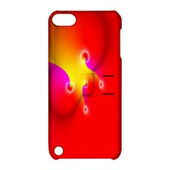 Complex Orange Red Pink Hole Yellow Apple Ipod Touch 5 Hardshell Case With Stand by Mariart