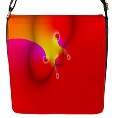 Complex Orange Red Pink Hole Yellow Flap Messenger Bag (s) by Mariart