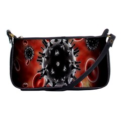 Cancel Cells Broken Bacteria Virus Bold Shoulder Clutch Bags by Mariart