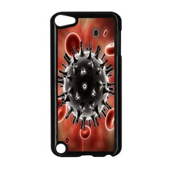 Cancel Cells Broken Bacteria Virus Bold Apple Ipod Touch 5 Case (black) by Mariart