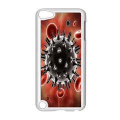 Cancel Cells Broken Bacteria Virus Bold Apple Ipod Touch 5 Case (white) by Mariart