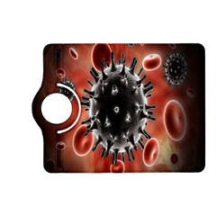Cancel Cells Broken Bacteria Virus Bold Kindle Fire Hd (2013) Flip 360 Case by Mariart