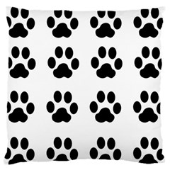 Claw Black Foot Chat Paw Animals Standard Flano Cushion Case (one Side) by Mariart