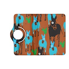 Zebra Horse Animals Kindle Fire Hd (2013) Flip 360 Case by Mariart