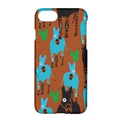 Zebra Horse Animals Apple Iphone 7 Hardshell Case by Mariart