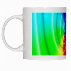 Complex Orange Red Pink Hole Yellow Green Blue White Mugs by Mariart