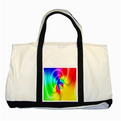 Complex Orange Red Pink Hole Yellow Green Blue Two Tone Tote Bag by Mariart