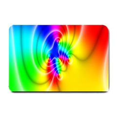 Complex Orange Red Pink Hole Yellow Green Blue Small Doormat  by Mariart