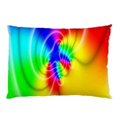 Complex Orange Red Pink Hole Yellow Green Blue Pillow Case (two Sides) by Mariart