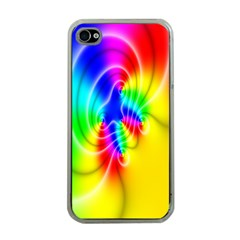 Complex Orange Red Pink Hole Yellow Green Blue Apple Iphone 4 Case (clear) by Mariart