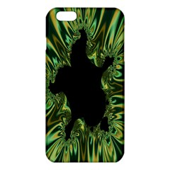 Burning Ship Fractal Silver Green Hole Black Iphone 6 Plus/6s Plus Tpu Case by Mariart