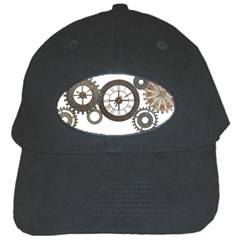 Hour Time Iron Black Cap by Mariart