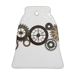 Hour Time Iron Ornament (bell) by Mariart