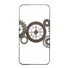 Hour Time Iron Apple Iphone 4/4s Seamless Case (black) by Mariart