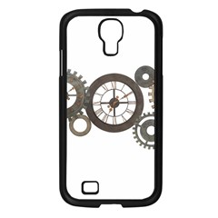 Hour Time Iron Samsung Galaxy S4 I9500/ I9505 Case (black) by Mariart
