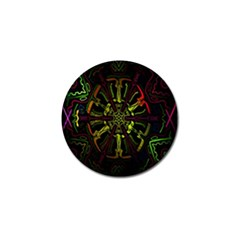 Inner Peace Star Space Rainbow Golf Ball Marker (10 Pack) by Mariart