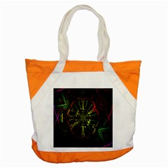 Inner Peace Star Space Rainbow Accent Tote Bag by Mariart