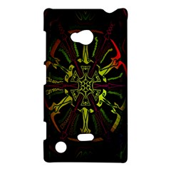 Inner Peace Star Space Rainbow Nokia Lumia 720 by Mariart
