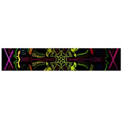 Inner Peace Star Space Rainbow Flano Scarf (large) by Mariart