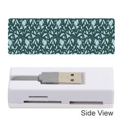 Interstellar Blog Tree Leaf Grey Memory Card Reader (stick)  by Mariart